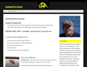 Aardvark Pest Control MN