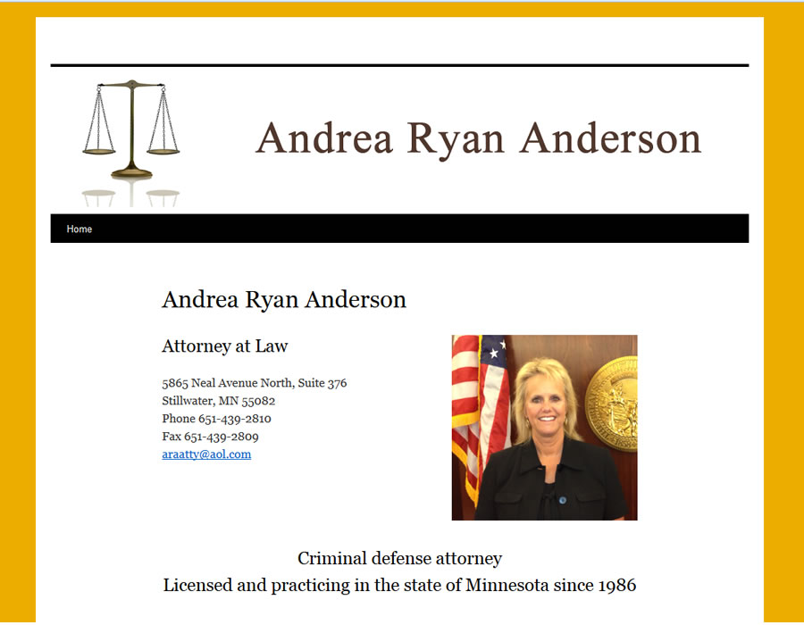 Andrea Ryan Anderson, Attorney at Law