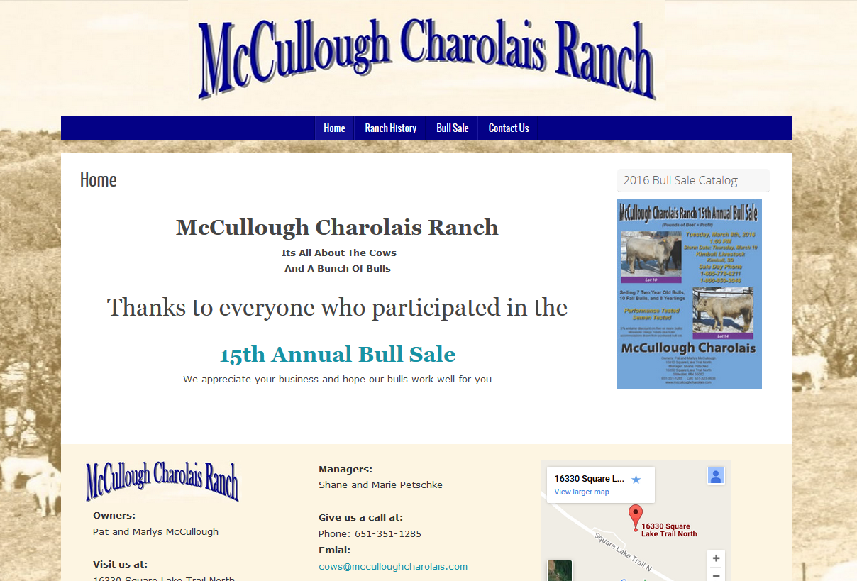 McCullough Charolais Ranch