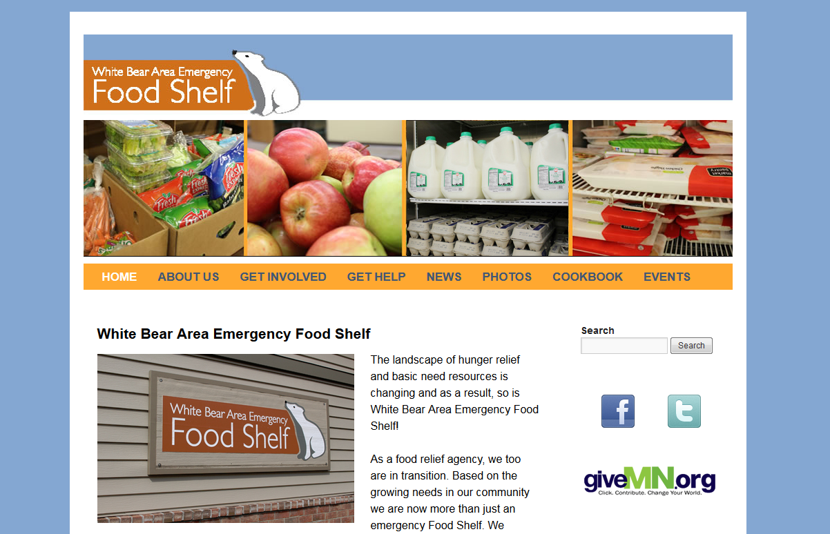 White Bear Area Emergency Food Shelf