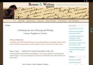 Boxers and Writers Magazine