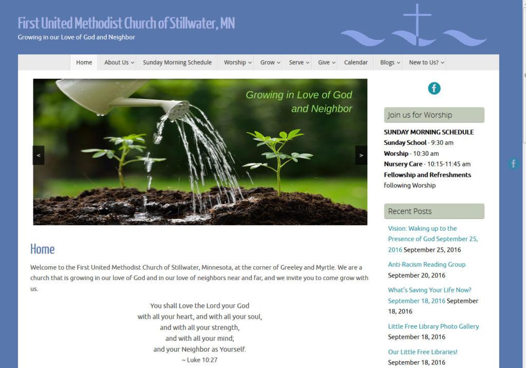 First United Methodist Church of Stillwater MN