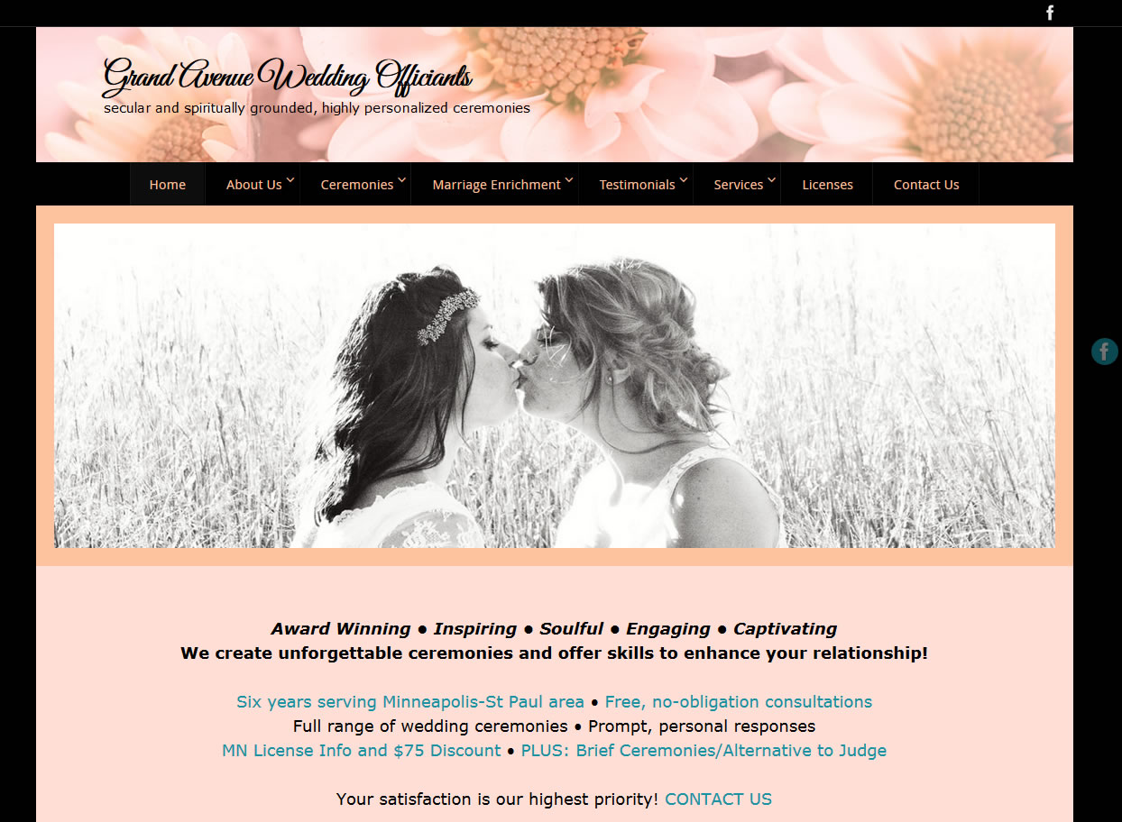 Grand Avenue Wedding Officiants
